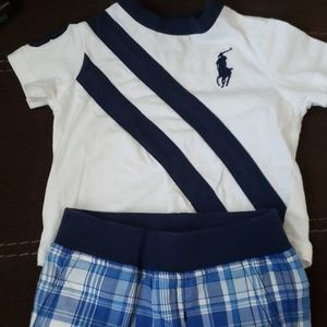 Ralph Lauren infant short set